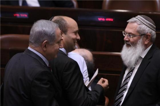 בן דאהן (מימין). צילום מתוך אתר הכנסת