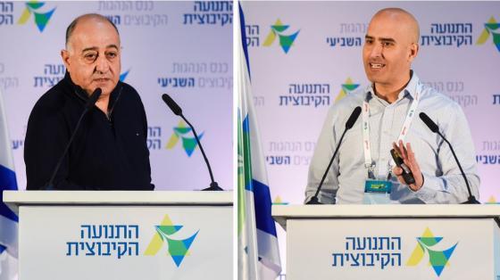 אלעד שלף (מימין) ויאיר מנע. צילום דנה בר-און
