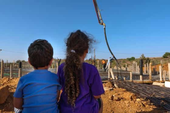 בנייה בקיבוצים