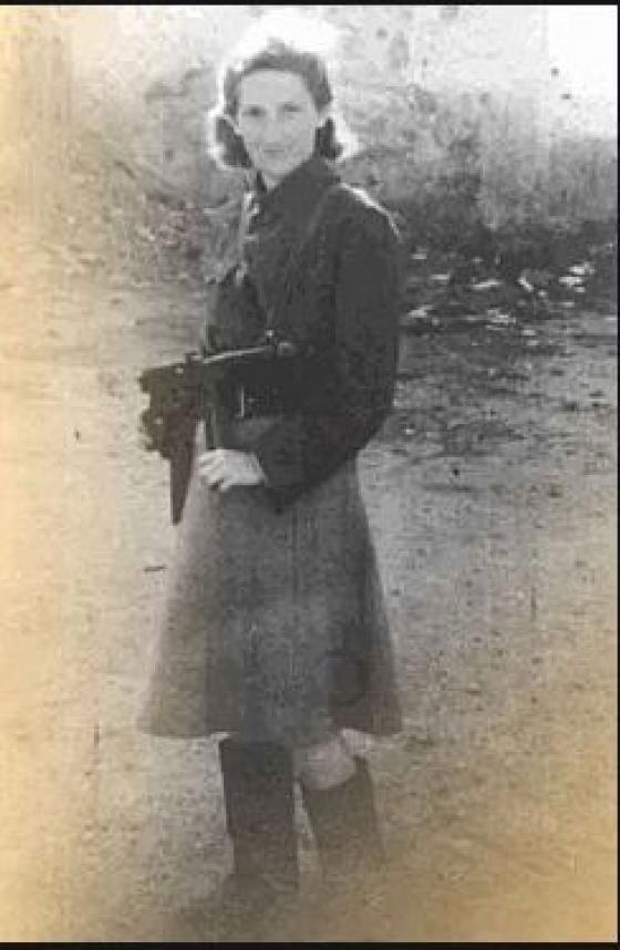 """""""ויטקה לא ידעה פחד, ובגבורתה הרבה, תוך סיכון עצמי רב, הצילה יהודים רבים ממוות"""""""