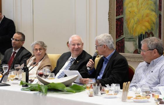 """נשיא המדינה לחקלאי ישראל: """"אני מאמין באמונה שלמה, שהחקלאות הישראלית היא מעמודי התווך של מדינת ישראל."""