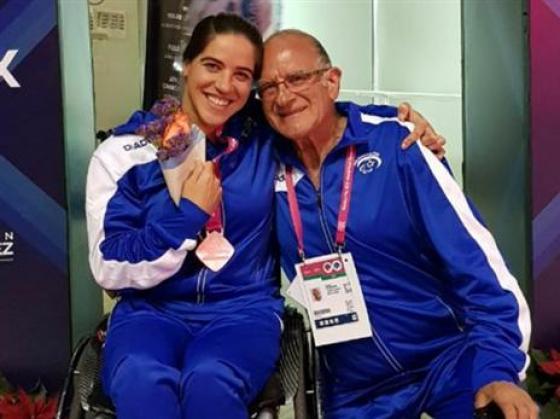 שתי מדליות לפיזארו באליפות העולם
