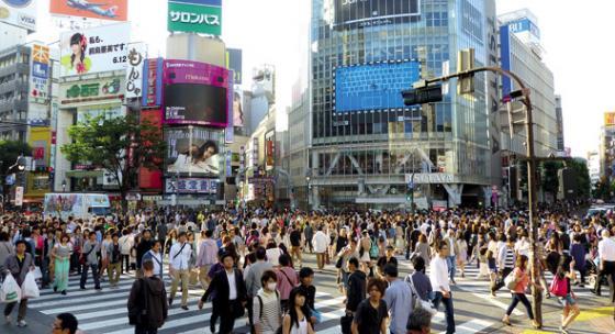 טוקיו. ערים עם אוכלוסייה משכילה מושפעות פחות מעלייה בריבית. צילום: Pixabay/cegoh