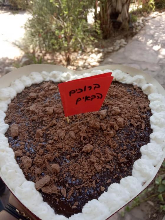 עוגה חברית בעין גדי