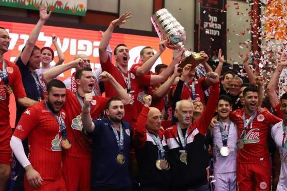 מטה אשר זוכה בגביע המדינה בכדורעף לשנת 2019